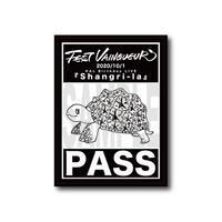 『Shangri-La』記念パスステッカー(サイン無)