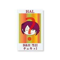 『B&H』当日チェキ1枚(HAL)