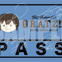 『Gratz!!!』I'LL's Day記念パスステッカー(サイン有)