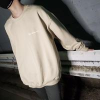 Logo Sweatshirts(Lightbeige)
