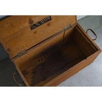 1890FRANCE レストランの木箱