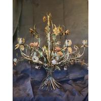 アンティークシャンデリア・アイアンの花束