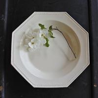 アンティーク・オクトゴナルスープ皿φ25cm