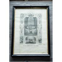 1858年FRANCE 洗礼式の女の子達
