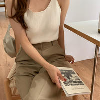 【予約販売】colcci  knit sleeveless