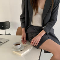 【予約販売】linen jacket