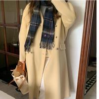 【予約販売】double handmade coat