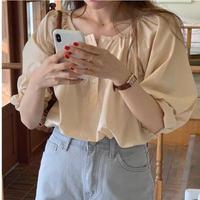 【予約販売】rumi volume blouse