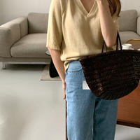 【即納】natural knit