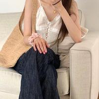 【予約販売】cotton lace camisole