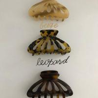 【予約販売】shell hair clip