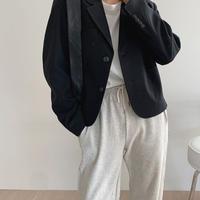 【即納】crop jacket