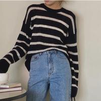 【即納】border over knit