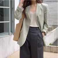 【予約販売】linen mode jacket