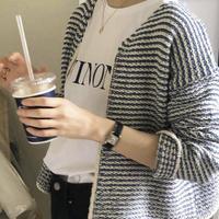 【予約販売】basket tweed cardigan
