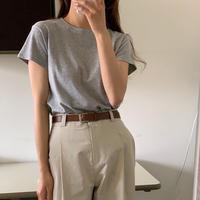 【即納】simple cotton T