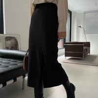 【予約販売】side slit skirt