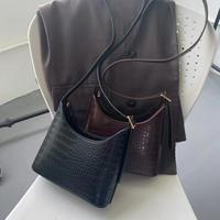 【即納】crocodile shoulder bag