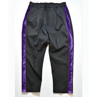 Bontan Slacks (Black × Purple)