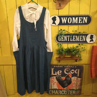 [0222op]ウエストギャザージャンパースカート
