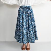 [0777sk]ペーズリー柄サーキュラースカート