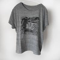 西村ツチカ / フランケンシュタインと女の子  Tシャツ|ワイドシルエット