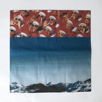 83 original / North Korea and the mountains ハンカチーフ