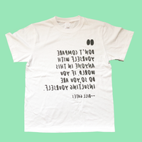 83 original /Quotes by Bill Gates 鏡文字TEE|2-Color