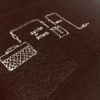 刺繍する犬 /Geek handstitch T-shirt アンプ刺繍