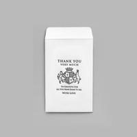 KNOOPWORKS / 活版 ポチ袋 EMBLEM|6-pcs