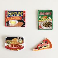 83SELECT / 刺繍ワッペン [ 食品 ] |4-Type