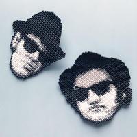 のそ子 / The Blues Brothers Brooch  [  ブルース・ブラザースブローチ ] Jake or Elwood