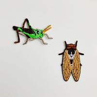 83SELECT / 刺繍ワッペン [ 虫 ] |2-Type