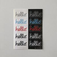 83 original / hello Sticker   10-Set