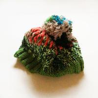 編みニット帽|ponpon /203gow