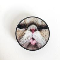 舌出し猫のスマホソケッツ・グリップ[ Charming CAT  PopSockets]/83