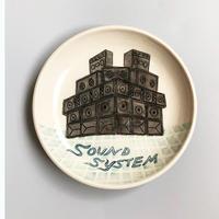 esou ceramics / SOUND SYSTEM皿  [絵皿]
