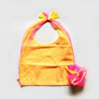 Organdie BAG  [Pink × Yellow]  / Lagimusim / 83SELECT