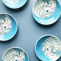 esou ceramics / 天気図 寒冷前線  [絵皿]