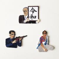 83SELECT / 刺繍ワッペン [ 男 ] |3-Type