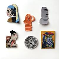 83SELECT / 刺繍ワッペン [ 芸術 ]  6-Type