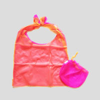 Lagimusim / Organdie BAG  [ Pink × Orange ]