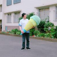 Big  Knit Ice Cream ビッグアイスクリーム  [ Peppermint × Yellow] NO.1/203gow
