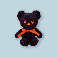 83SELECT / ぬいぐるみ  Dick Bruna BLACK BEAR ブラック・ベア|S