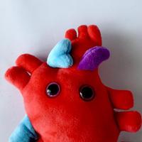 83SELECT / ぬいぐるみ 心臓 | GIANTmicrobes