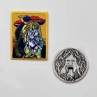 83SELECT / 刺繍ワッペン [ 芸術 ]  2-Type