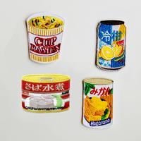 83SELECT / 刺繍ワッペン [ 保存食品 ] |4-Type