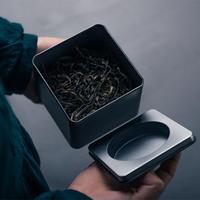 物色 / 金属方茶筒(小) 2-Type