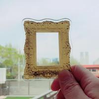83 original  /Luxury Frame Brooch|額 BIG