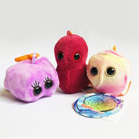 83SELECT / キーチェーン 微生物 3-Type |GIANTmicrobes